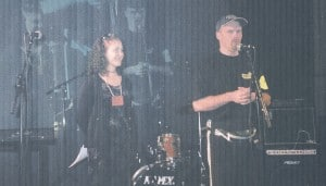 Rautakourakilpailut Rockspot konsertin yhteydessä.